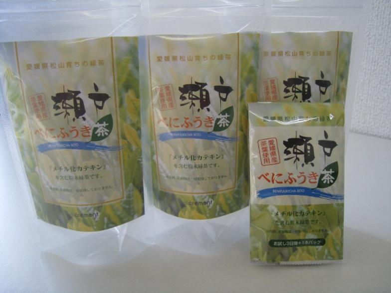 画像1: 紅富貴緑茶 100本パック
